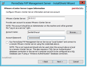 Install - vCenter