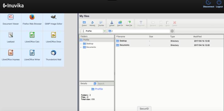 OVD Demo - Client Portal