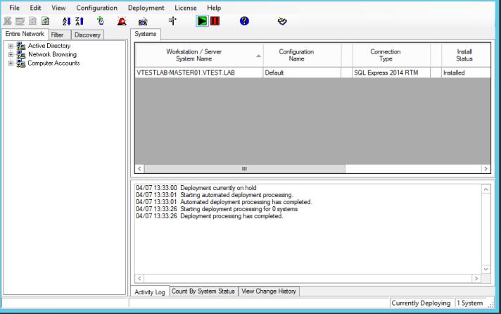 vTestlab Master Deployment Tool